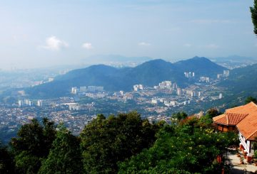 Hills for hike in Penang